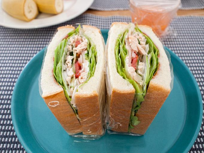 低脂質サンドイッチ