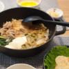 低脂質レシピのすき焼き