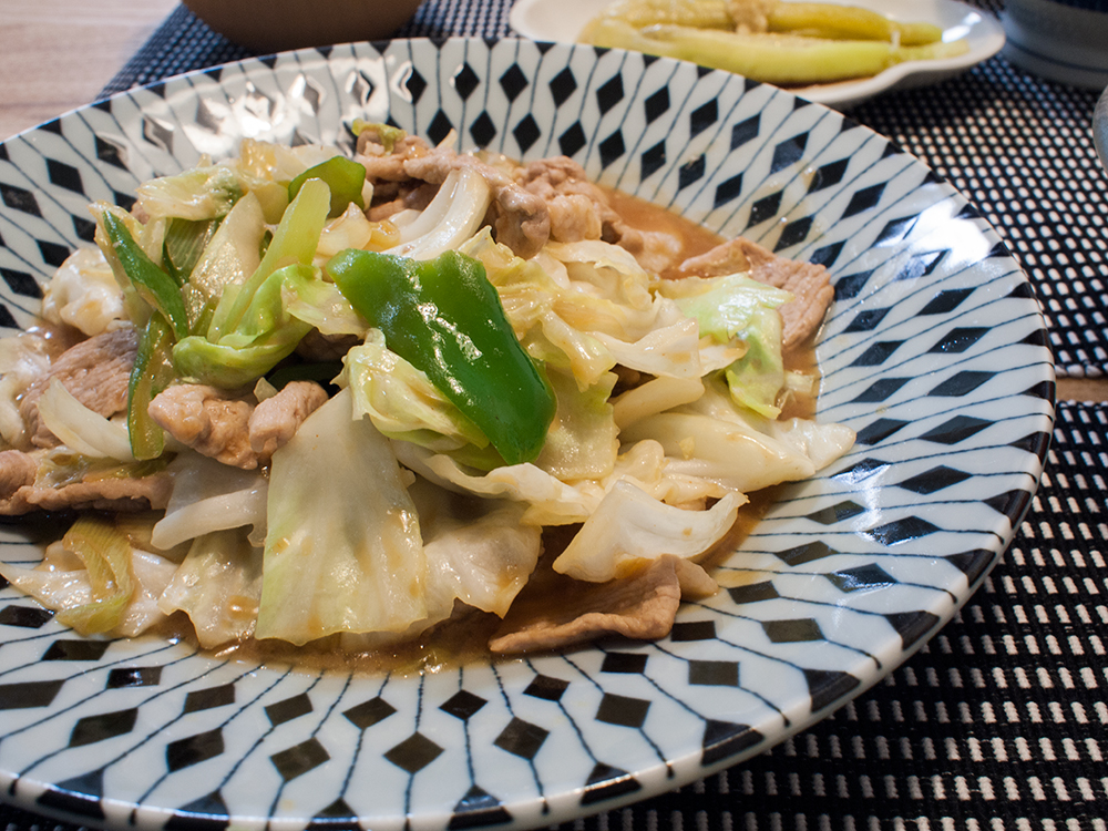低脂質な回鍋肉