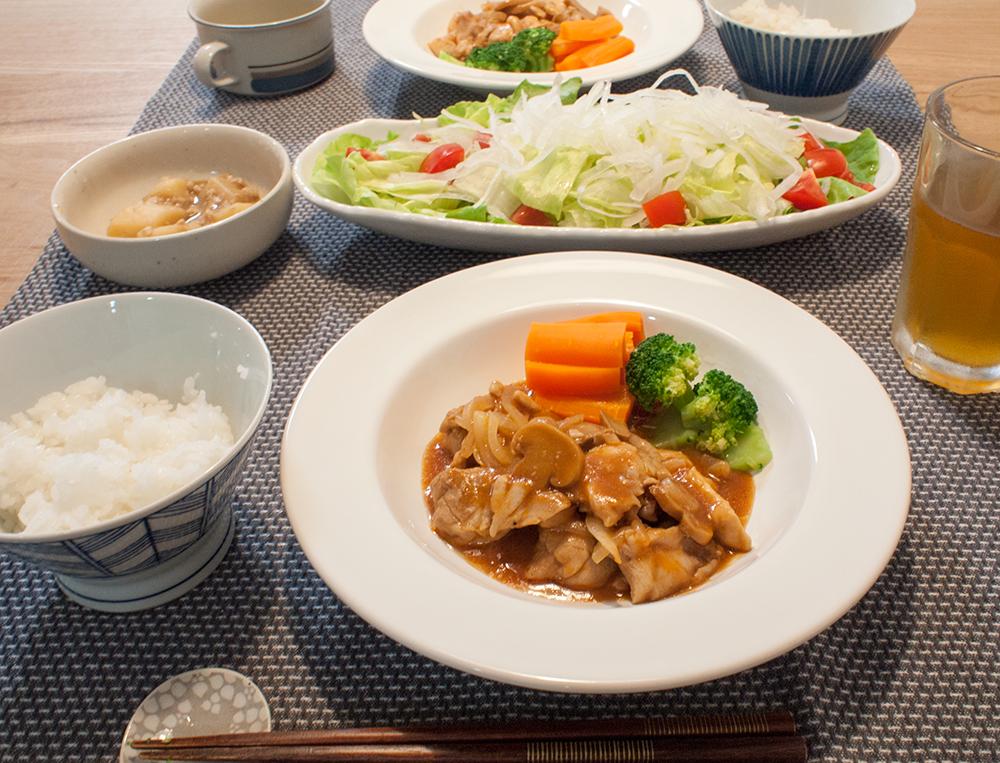 低脂質な鶏肉料理