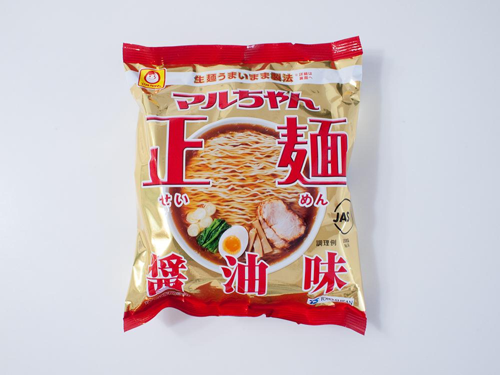 マルちゃん正麺のパッケージ