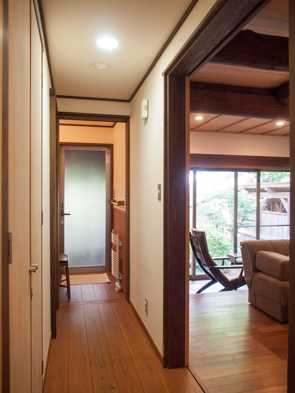 尚文の離れ 露天風呂付き客室のお部屋の様子