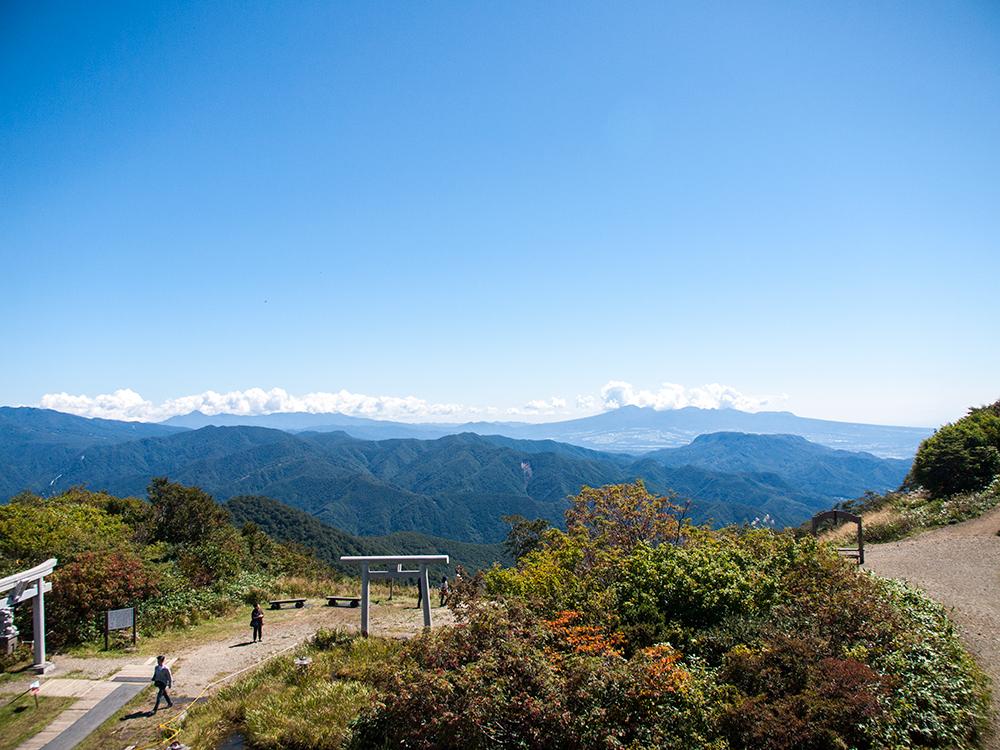 天神峠展望台からの眺め