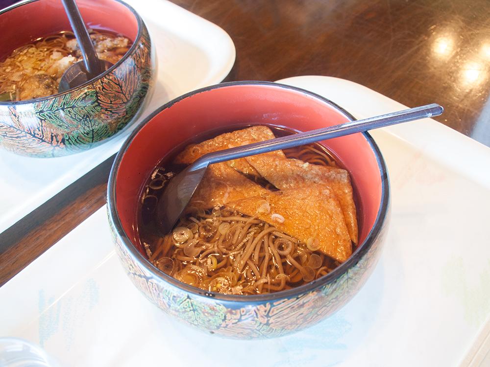 谷川岳ロープウェイ ビューテラスてんじんレストランで食べたお蕎麦