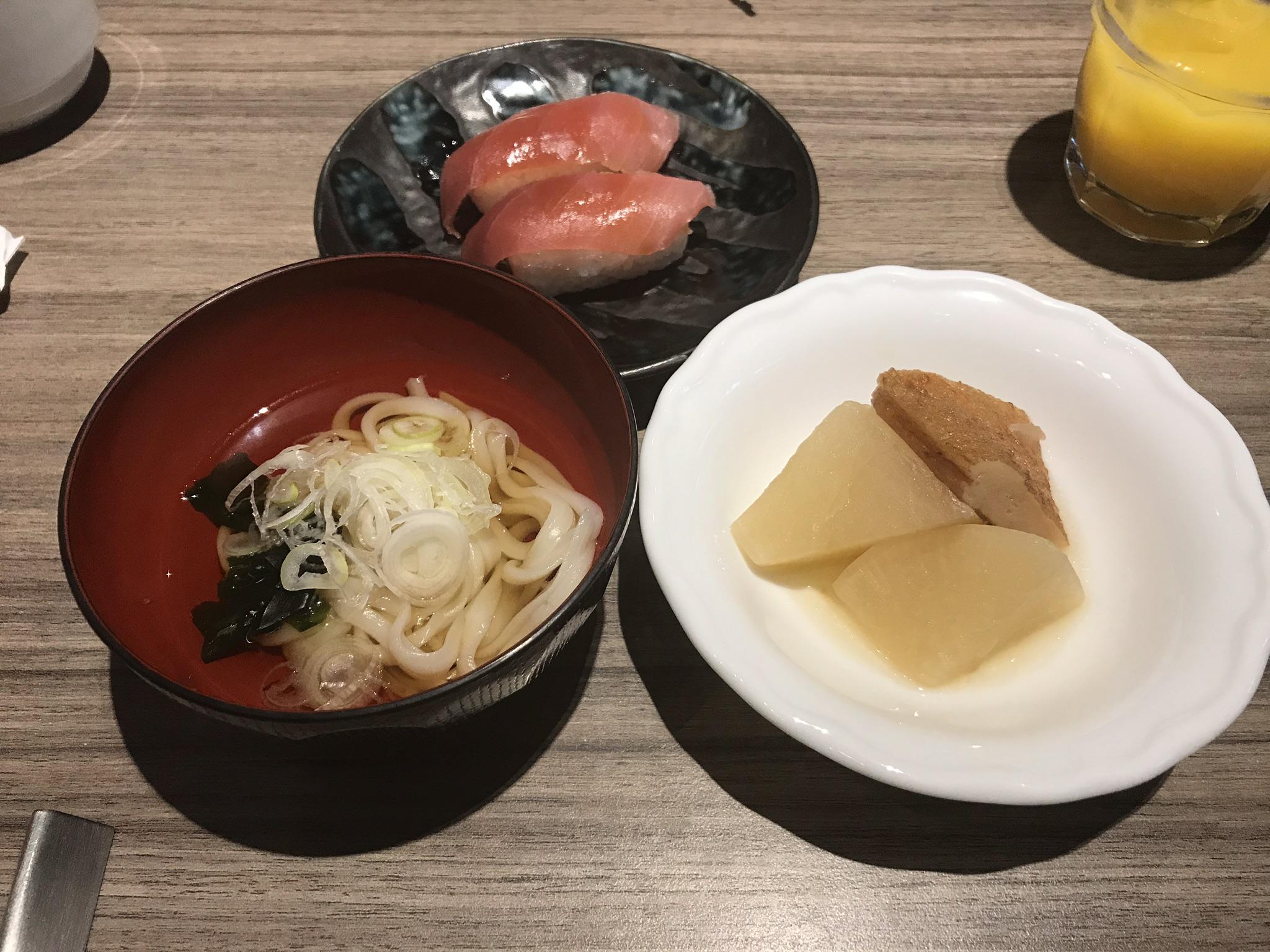 ブッフェの和食