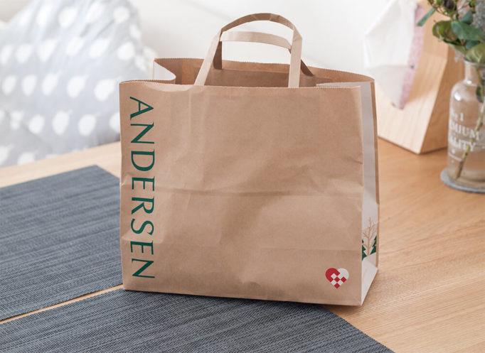 アンデルセンの紙袋