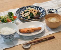 和食でひとりごはん