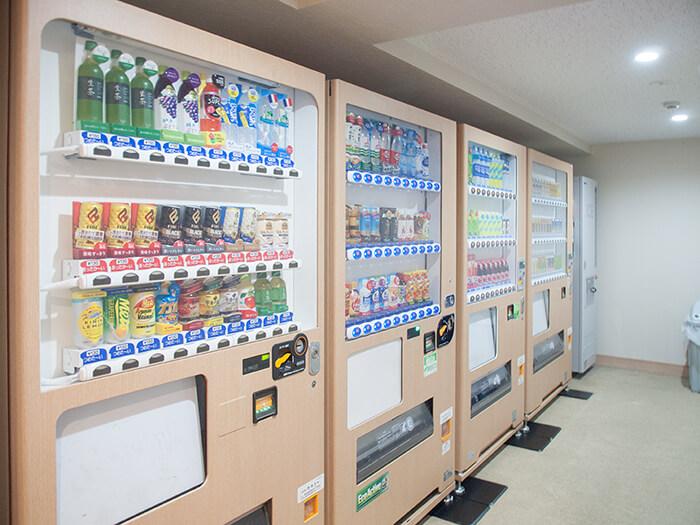 箱根はなをり 自動販売機