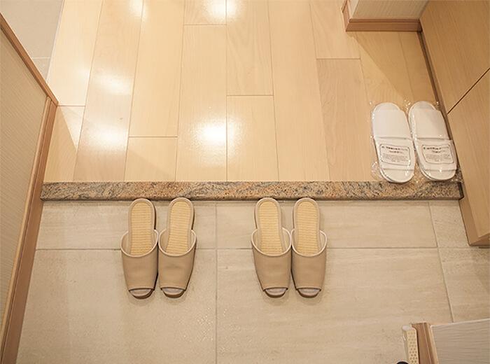 箱根はなをり 客室玄関