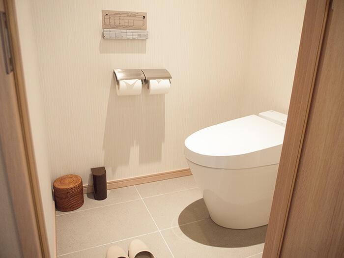 箱根はなをり客室のトイレ