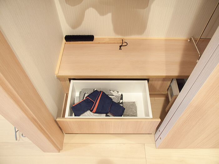 箱根はなをり客室のクローゼット