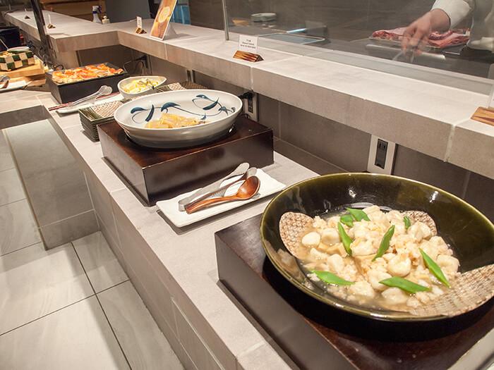箱根はなをり 夕食ブッフェの和総菜