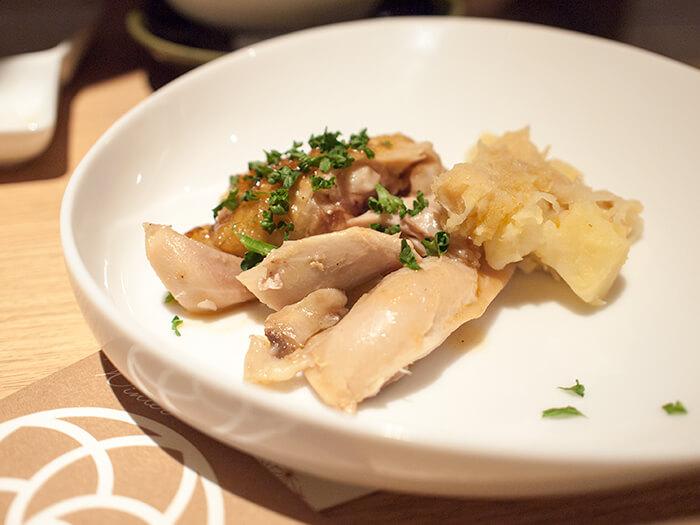 箱根はなをり 夕食ブッフェのローストチキン