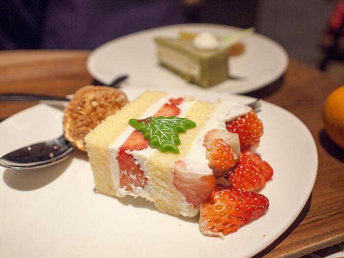 箱根はなをり 夕食のショートケーキ