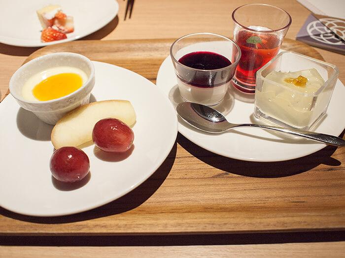 箱根はなをり 夕食ブッフェのデザート