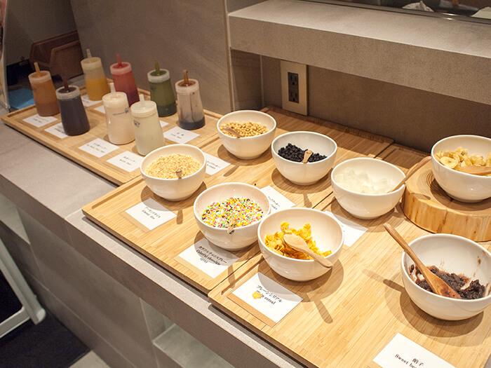 箱根はなをり 夕食ブッフェのソフトクリームトッピング
