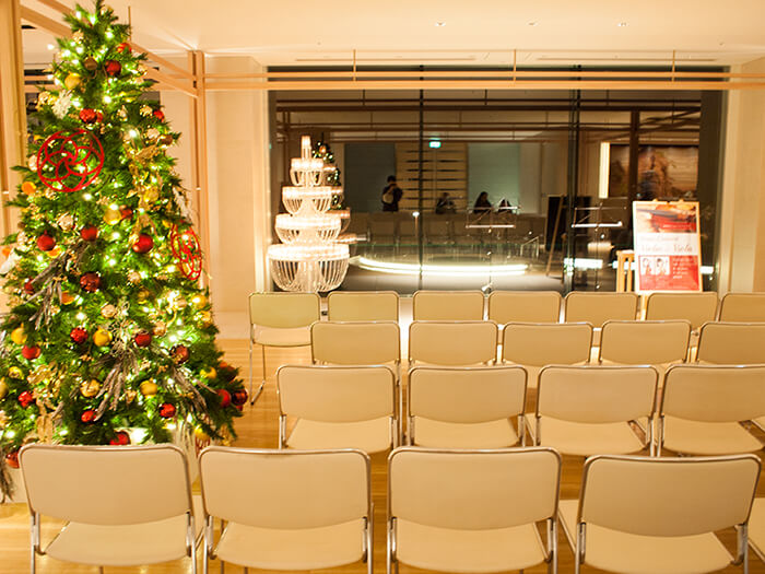 はなをり クリスマスコンサート会場