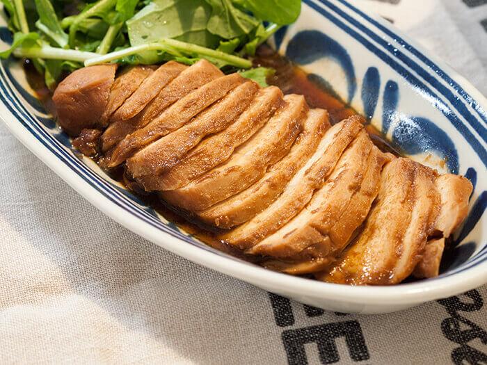 鶏胸肉の簡単レシピで作ったチャーシュー