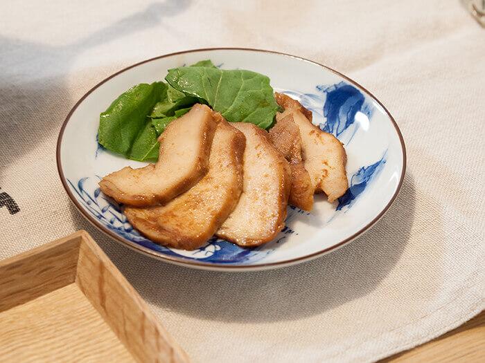 鶏胸肉の北京ダック風チャーシュー