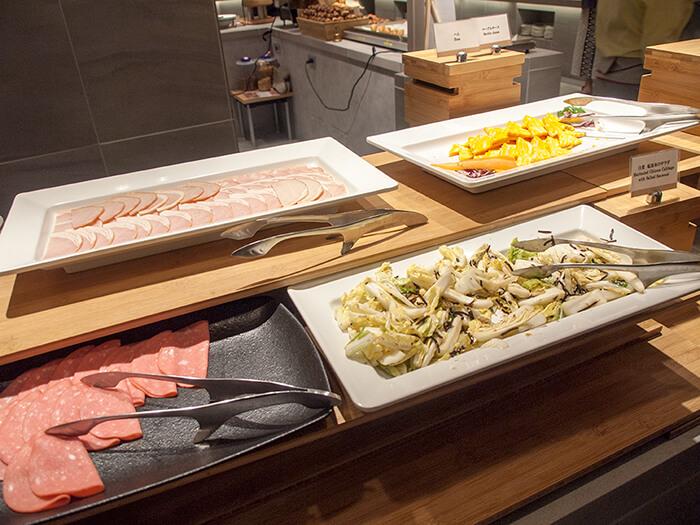 箱根はなをり 朝食ブッフェの洋食料理