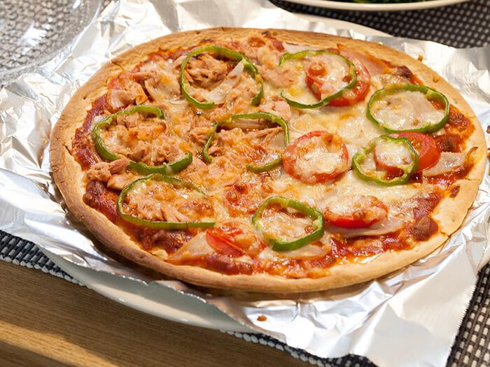 手作りおうちピザ