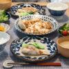 魚のムニエルと麻婆豆腐の食卓
