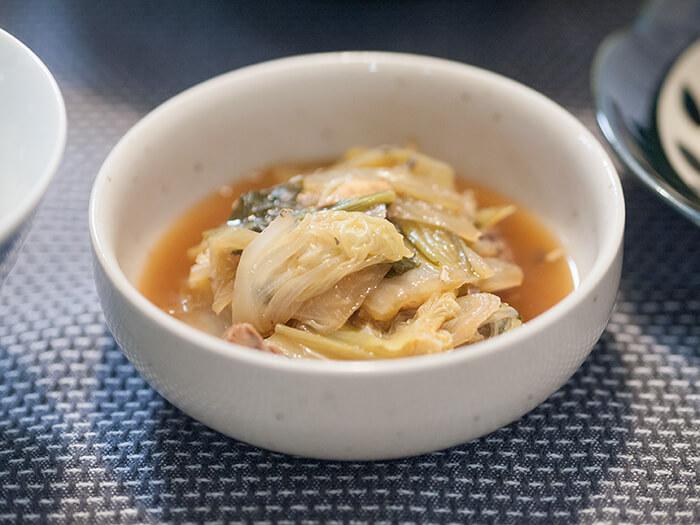鯖と白菜のクタクタ煮