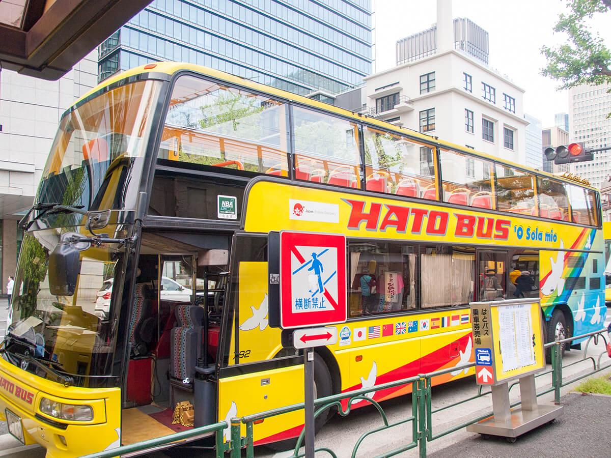 はとバスの2階建てバス