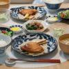 カジキマグロの照り焼きがメインの食卓