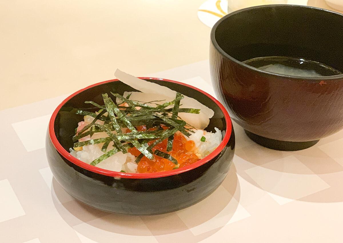 ブッフェのちらし寿司