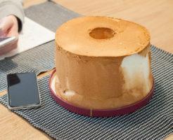 フレイバーのシフォンケーキ