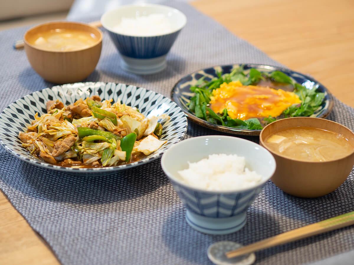 回鍋肉と天津