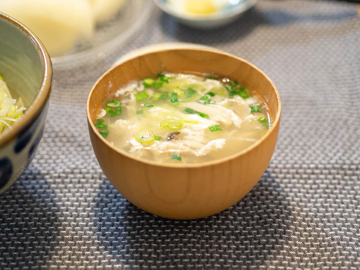 卵白入り中華スープ