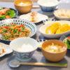青椒肉絲がメインの食卓