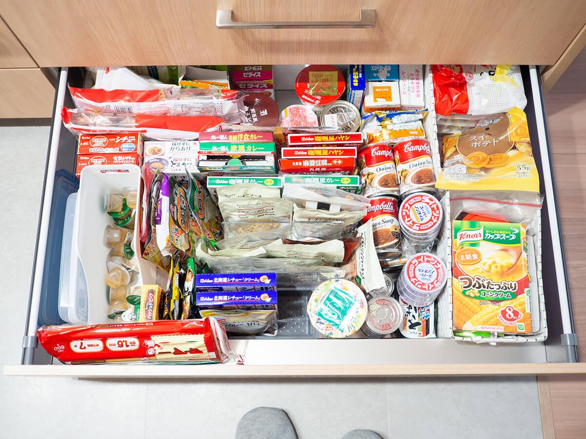 非常時に備えた備蓄食品