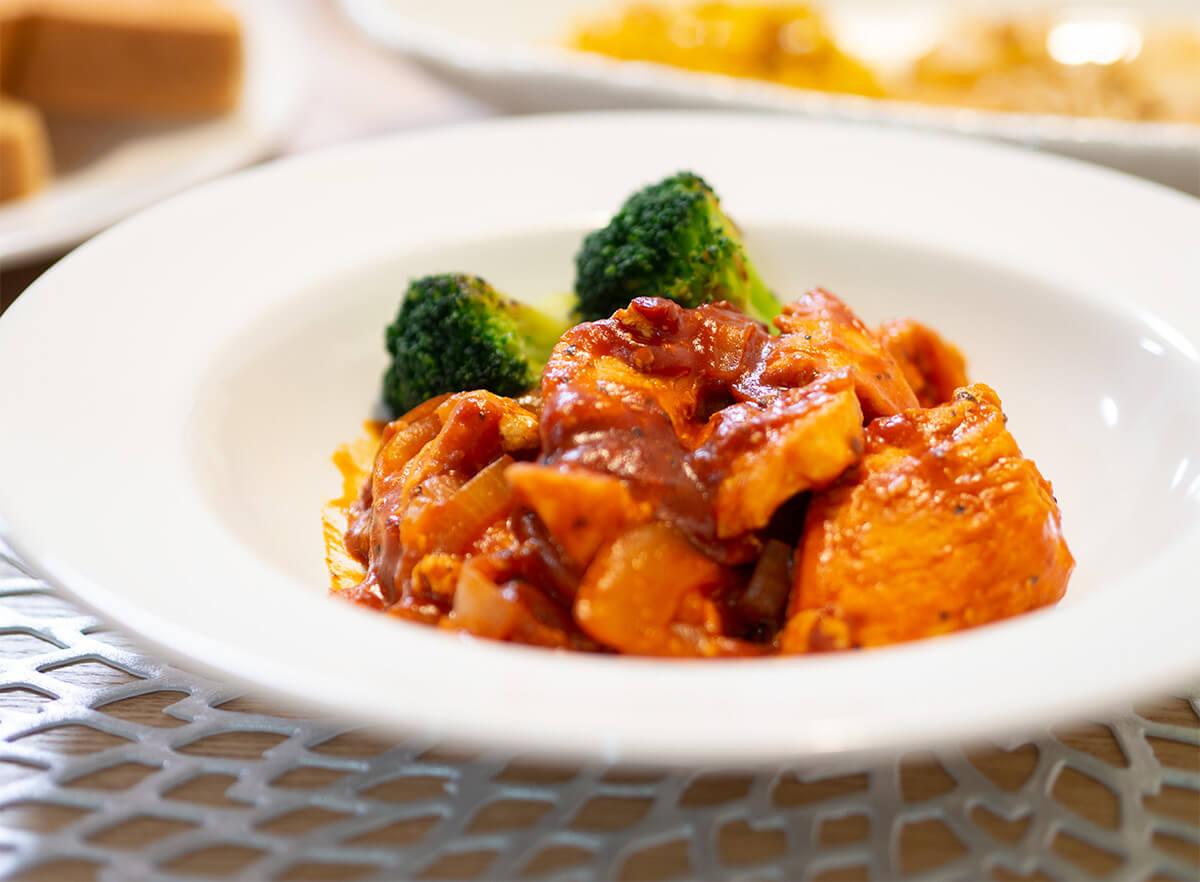 鶏胸肉のトマト煮