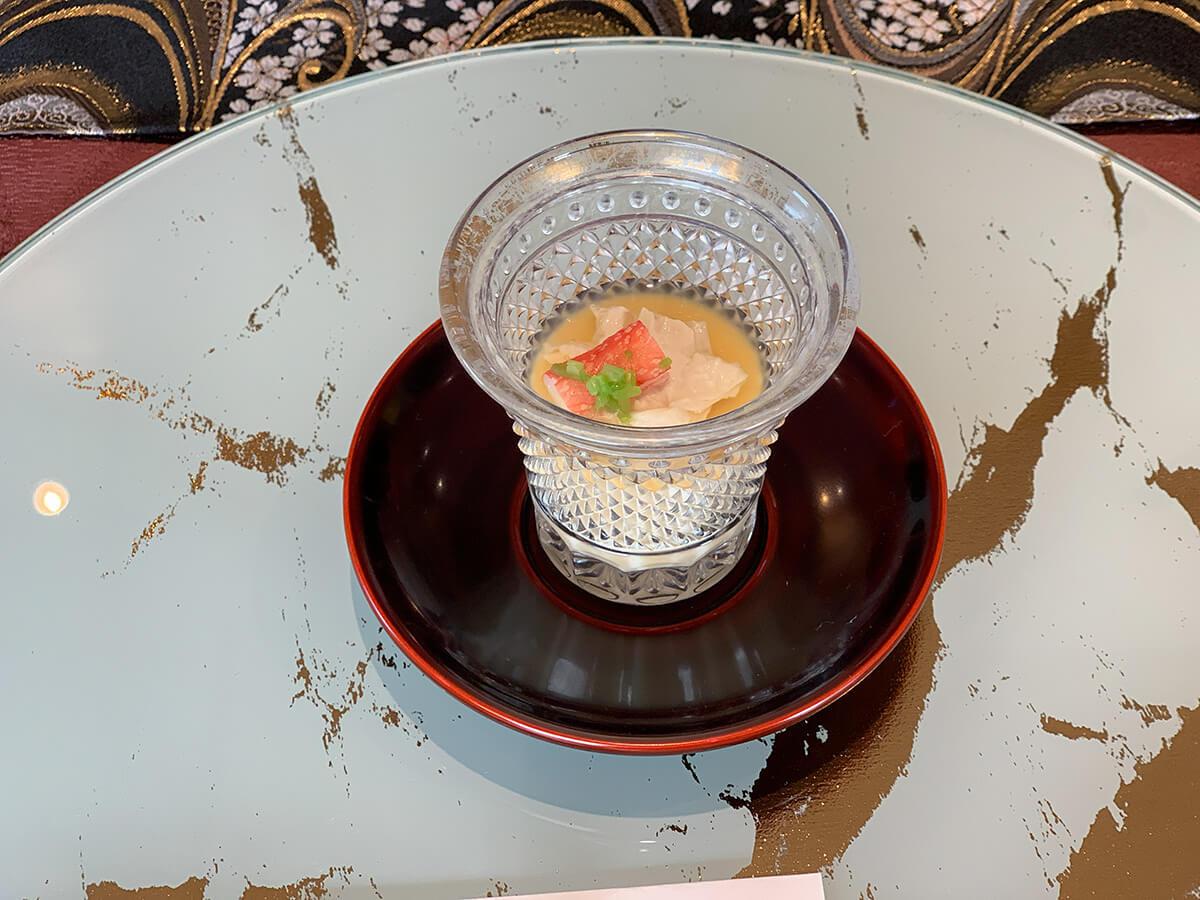 カニの茶碗蒸し