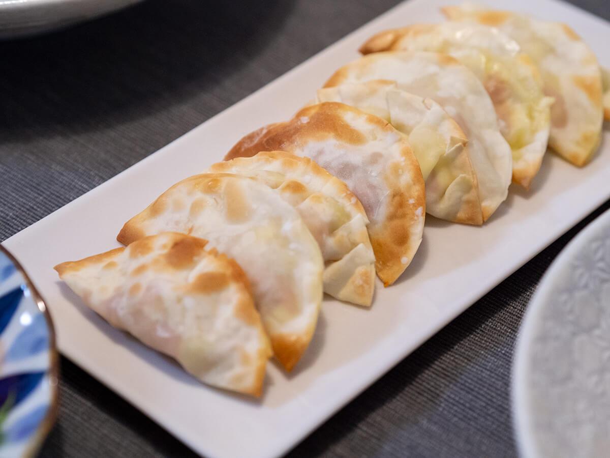 ツナチーズ餃子