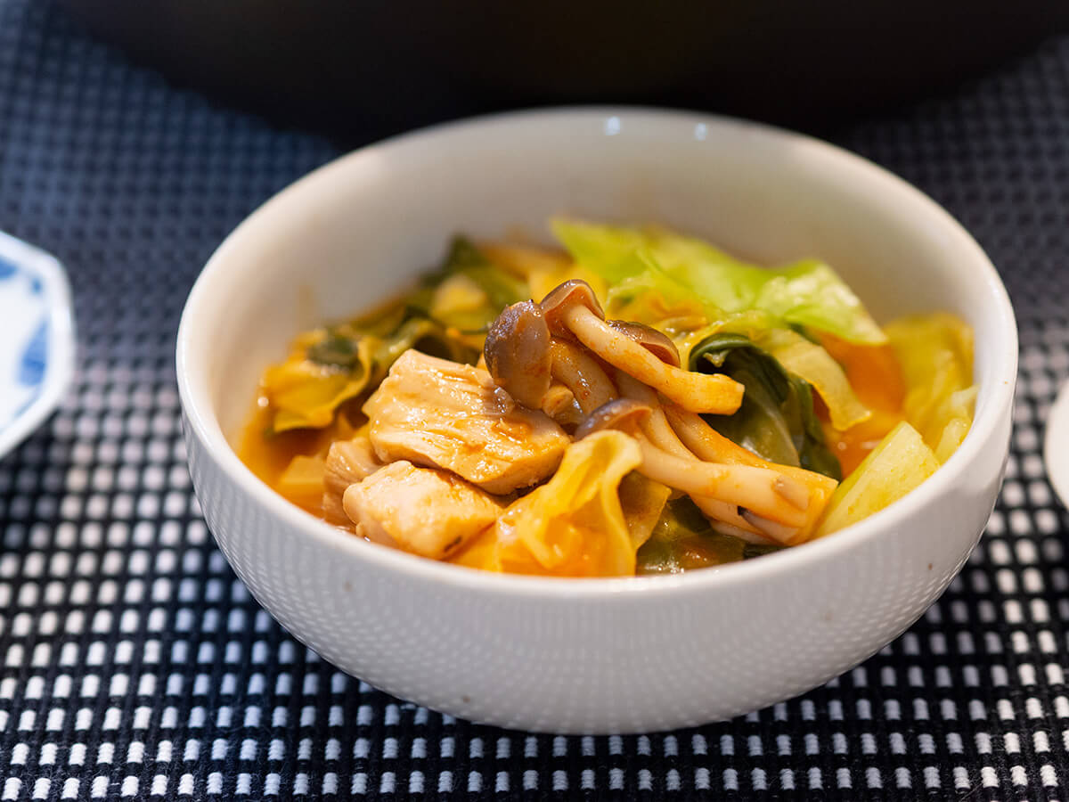 ミネストローネ鍋の具材