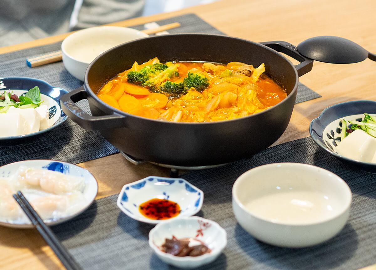 無印良品のミネストローネ鍋