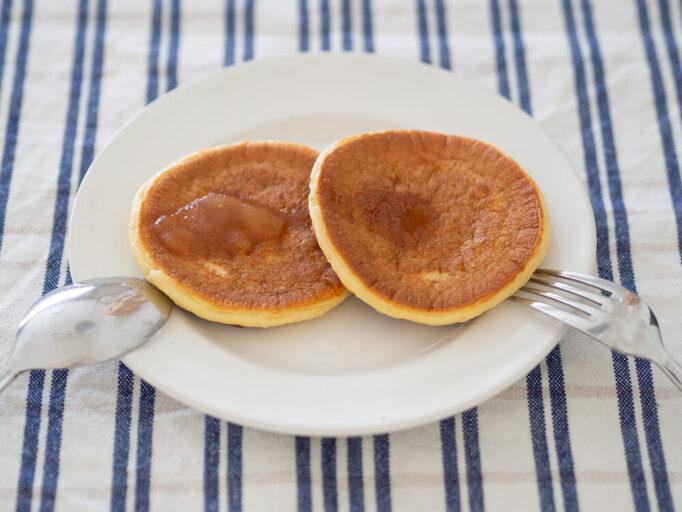 マッスルデリのプロテインパンケーキ