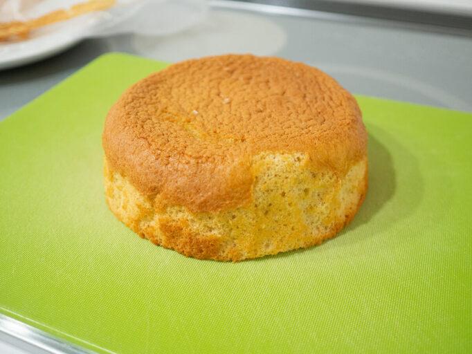 ノンオイルのスポンジケーキ