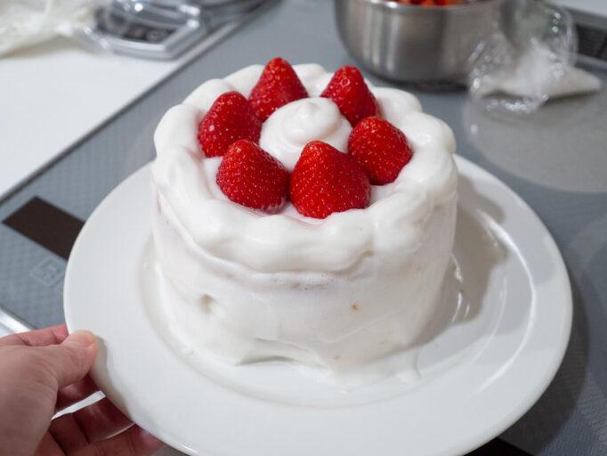 低脂質なケーキ