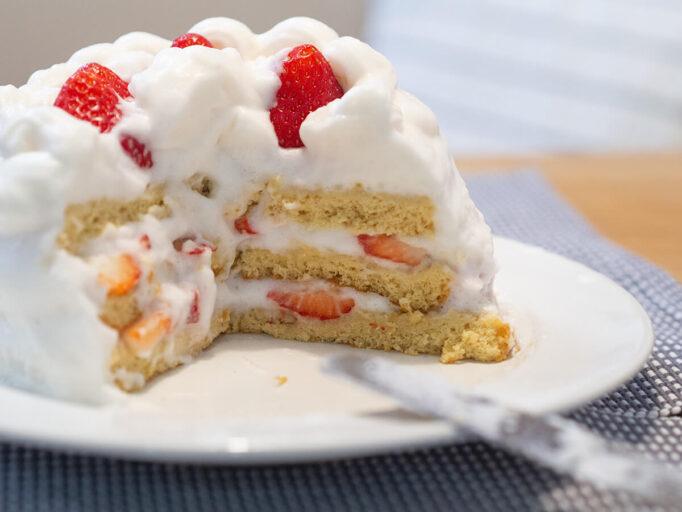 低脂質ケーキの失敗
