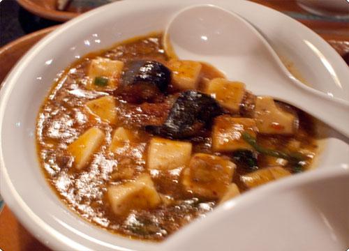 ヴォルケイニアの麻婆豆腐