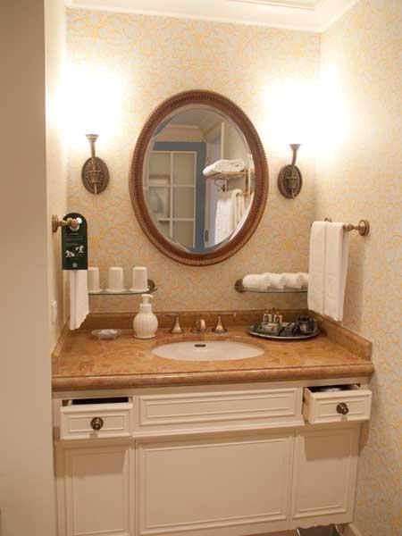 ミラコスタ テラスルーム 洗面台