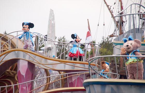 バケパ鑑賞エリア クリスタル・ウィッシュ・ジャーニー