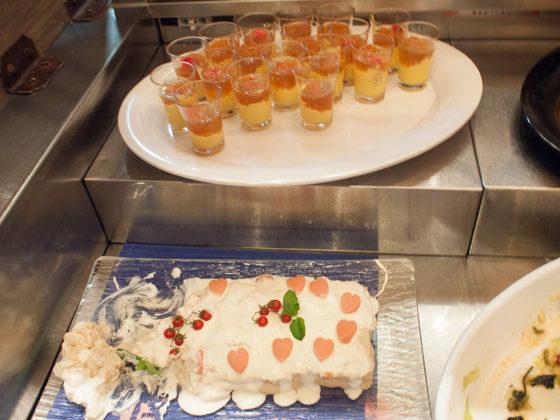 セイリング ブッフェ サラダ