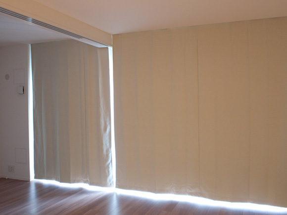 無印のカーテン