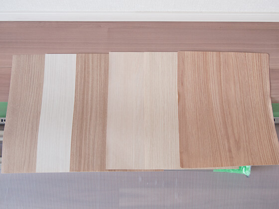 木目の壁紙
